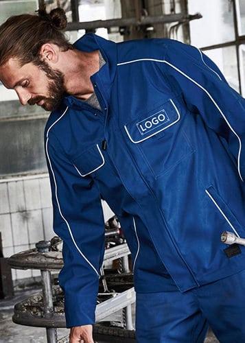 Arbeitskleidung bedrucken